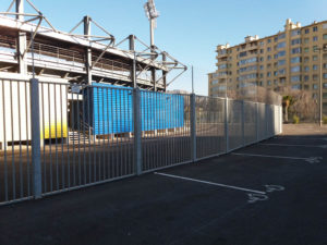 Clôtures barreaudage Stade de L'arc - BERRE L'ETANG 2