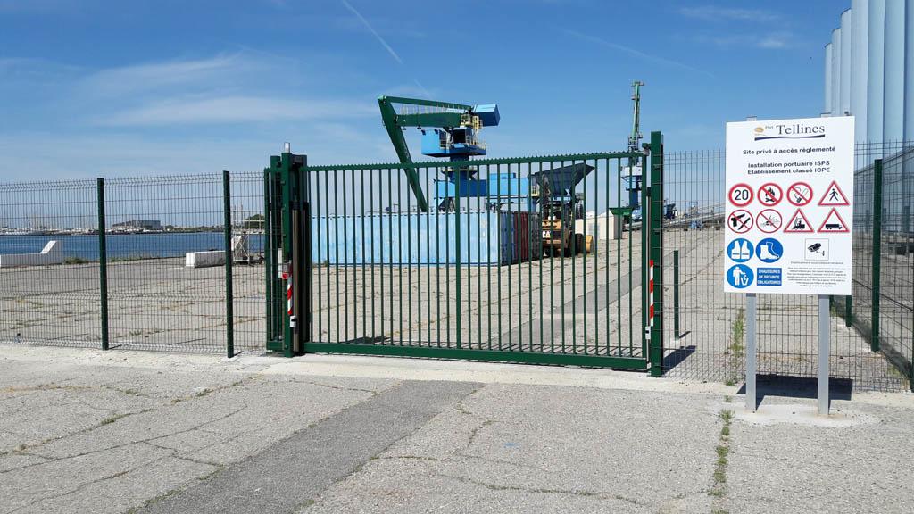 Clôture et Portail, Port Tellines - PORT ST LOUIS