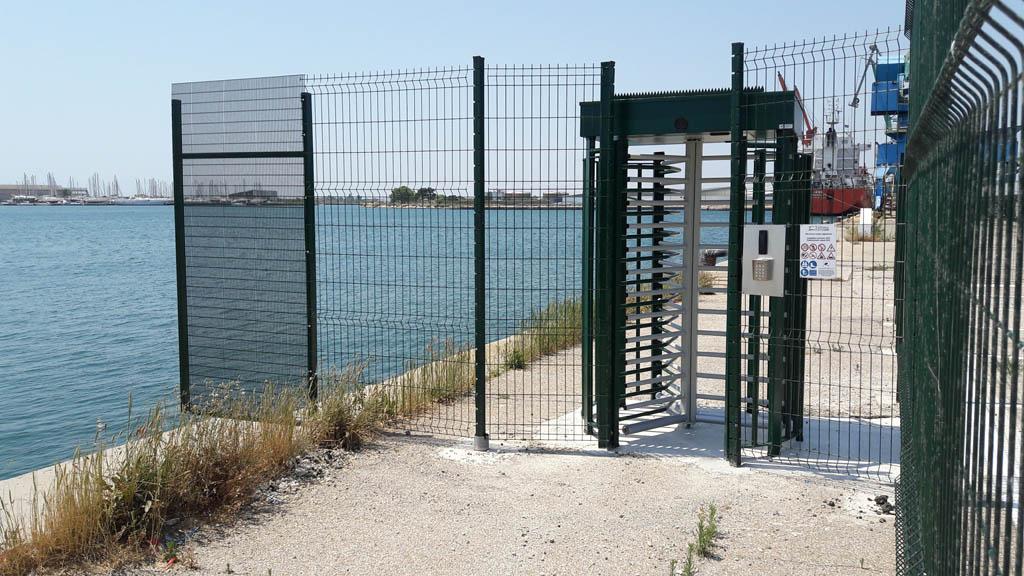 Contrôle d'accès et Tourniquets - Port Tellines