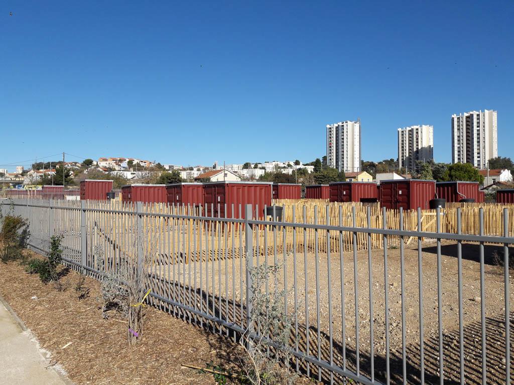 Clôtures Jardins Familliaux Rocade